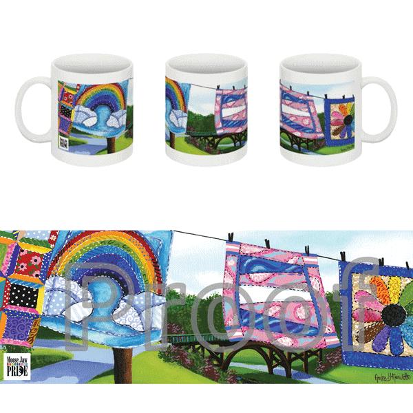 Rainbow Mugs - $15