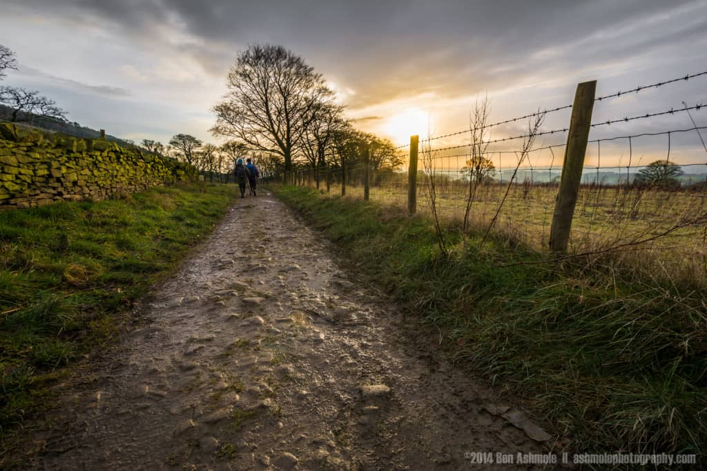 Afternoon Walk, Rivington Pike, Lancashire, UK