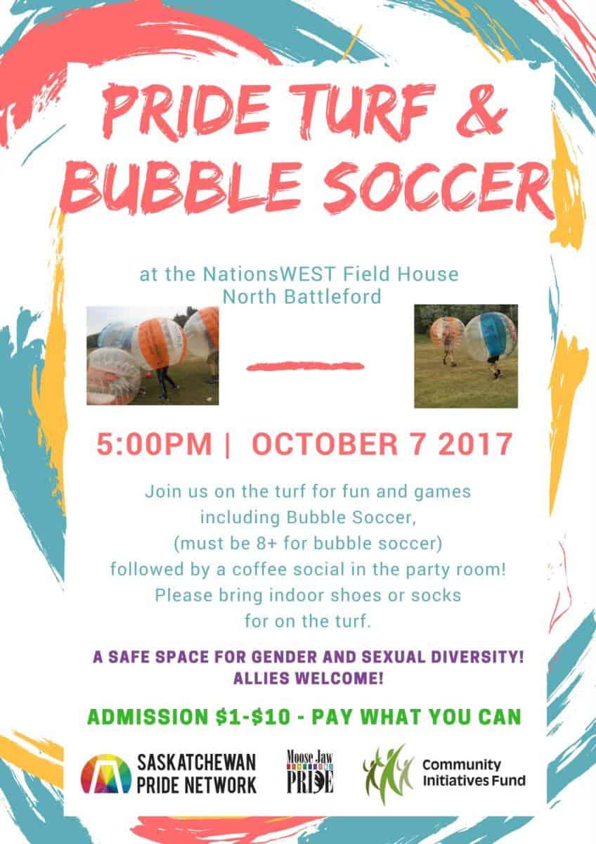 Pride Turf Bubble Soccer