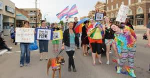 MJ Pride at the Hometown Fair Parade @ Downtown Moose Jaw   Moose Jaw   Saskatchewan   Canada