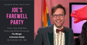 Joe's Farewell Party @ Rainbow Retro Thrift Shop